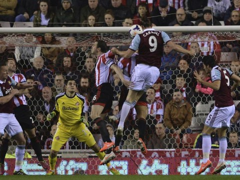 Andy Carroll sets West Ham on their way to victory at Sunderland