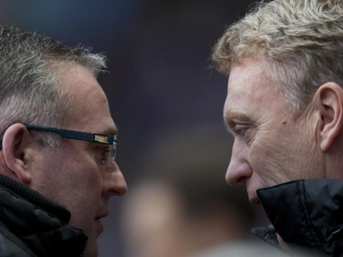 Now is not the time to judge Paul Lambert – or David Moyes – as Aston Villa head to troubled Manchester United