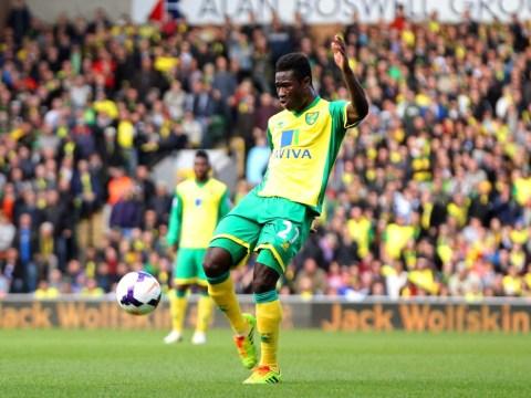 Norwich's Alex Tettey hits worldie volley against Sunderland