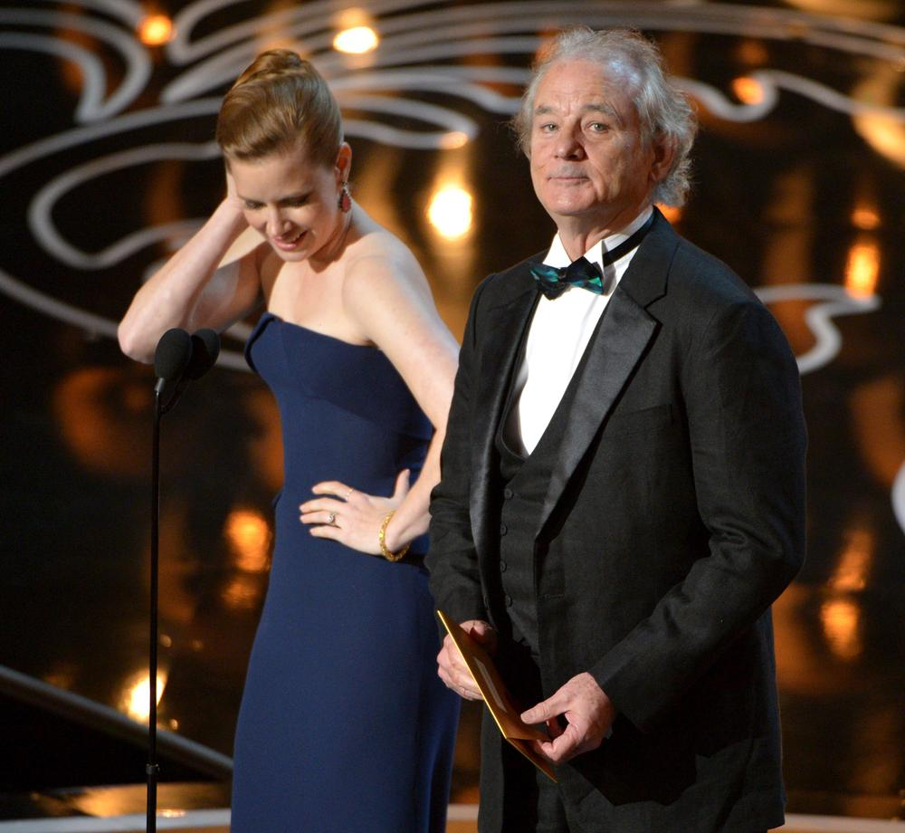 Bill Murray pays tribute to late Ghostbusters co-star Harold Ramis at Oscars