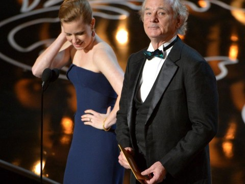 Bill Murray gets the A-list stars singing and dancing at Vanity Fair Oscars after-party