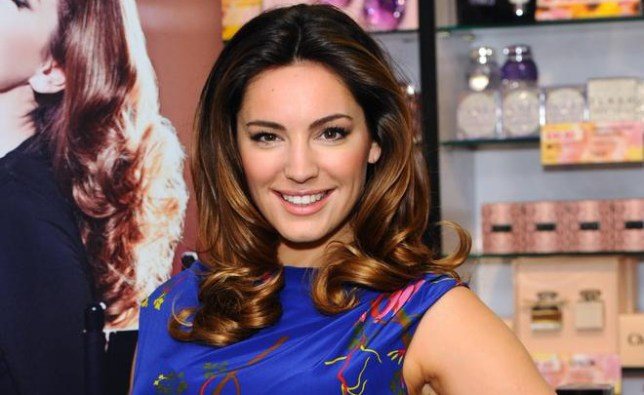 Kelly Brook launches her new perfume 'Audition' at The Perfume Shop on March 17, 2014 in London, England. Anthony Harvey/Getty Images