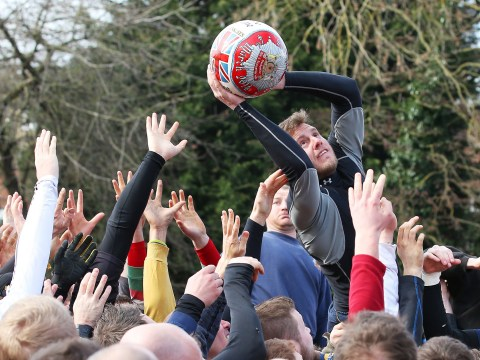 Pictures: Ashbourne Royal Shrovetide football match 2014
