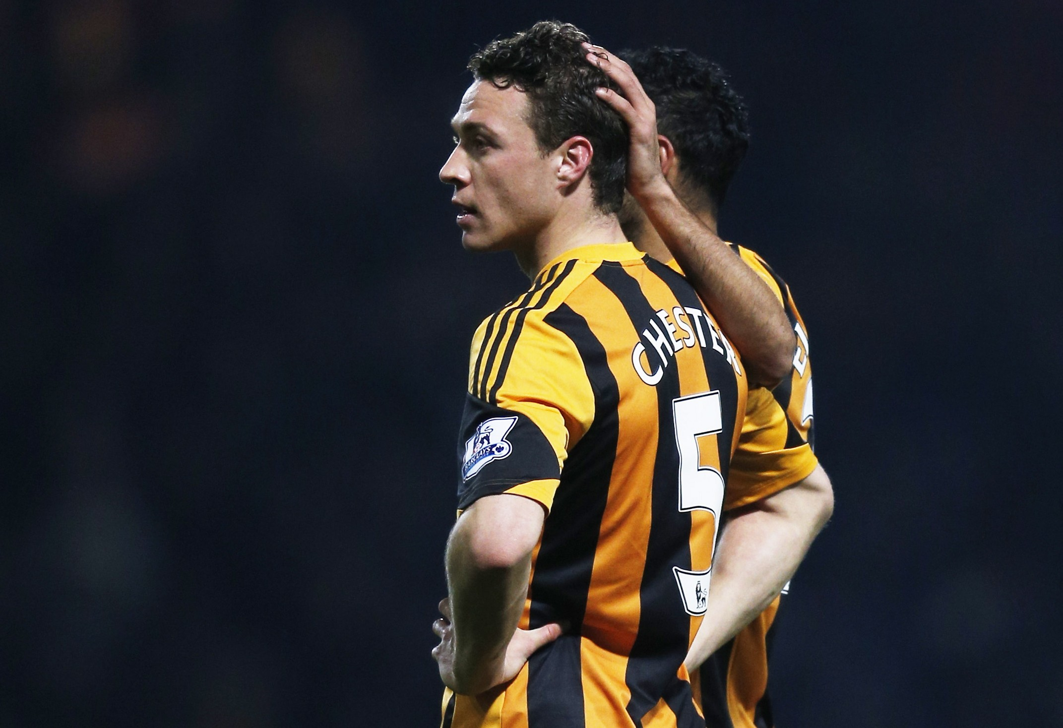 Oh dear! Hull City defender James Chester scores hilariously bad own goal