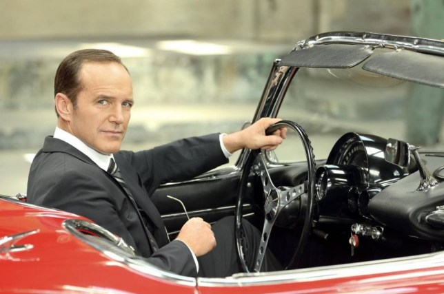 Clark Gregg as Agent Phil Coulson in Marvel's Agent of SHIELD. (Picture: ABC/Bob D'Amico)
