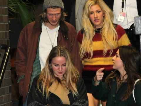 Ellie Goulding and Dougie Poynter have taken to Twitter to slam fresh reports that they are dating