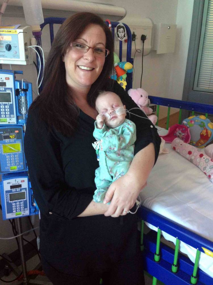 I gave birth to girl after medics said she'd died