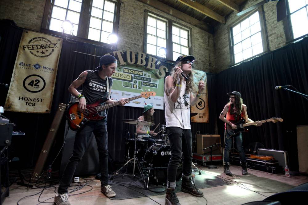 The Weeks, one of some 2,200 acts to perform at last year's SXSW (Picture: Getty)