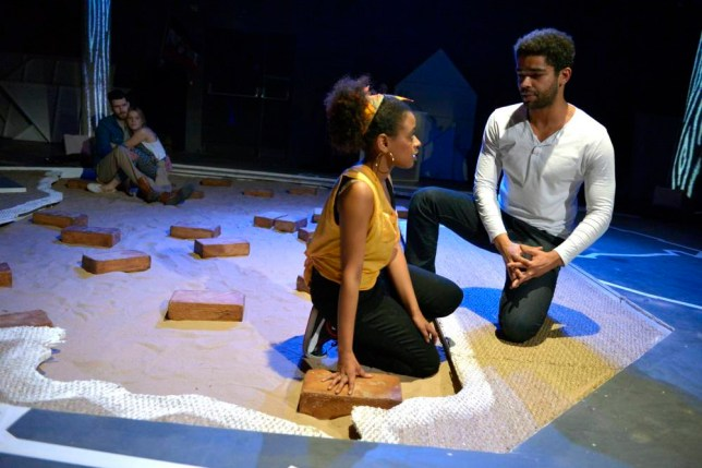 We Are Proud To Present at Bush Theatre featuring Ayesha Antoine and Kingsley Ben-Adir (Picture: Keith Pattison)