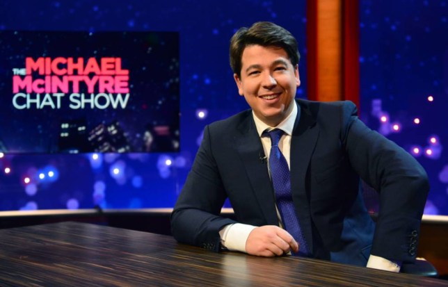 Michael McIntyre has a new chat show. It's called The Michael McIntyre Chat Show (Picture: BBC)