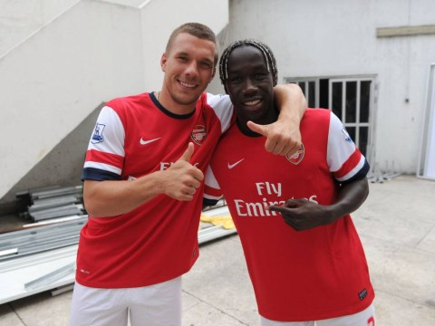 Inter Milan make transfer offers for Arsenal duo Lukas Podolski and Bacary Sagna