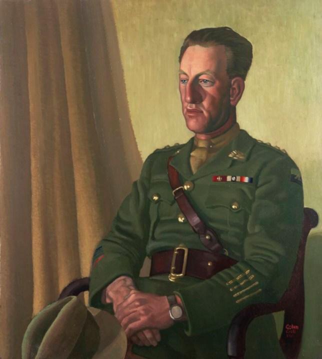Portrait of Captain Albert Jacka (1893-1932) as part of The Great War In Portraits (Picture: IWM Art 1915)