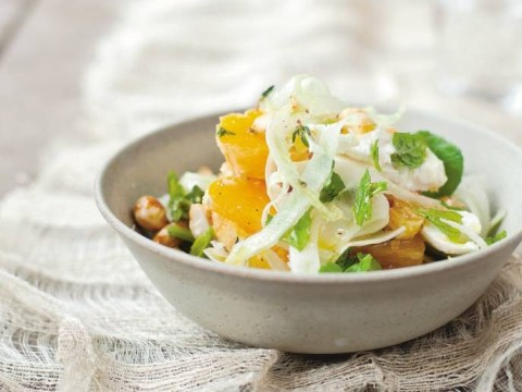 Recipe: How to make Diana Henry's feta and orange salad with honeyed almonds