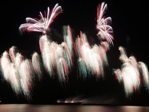 Pictures: International fireworks competition results in spectacular displays