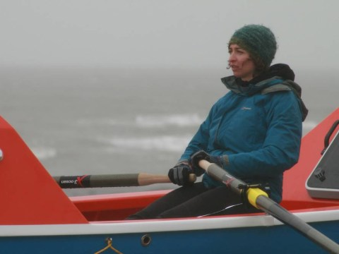 Student plans to break solo rowing record across the Pacific