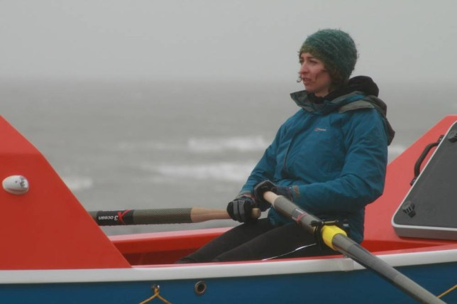 for Elsa Hammond who in June will take on the challenge of becoming the youngest and fastest woman in history to row single-handed across the Pacific Ocean.