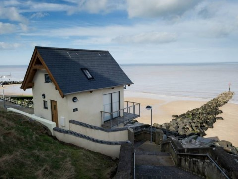 Beautiful home, no chain… Life's a bleach for couple who converted toilet block into two-bedroom house