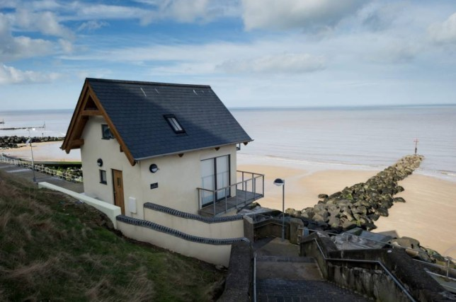 The Wee Retreat: Nick WIllan turns toilet block into a two-bedroom house in Sheringham, Norfolk