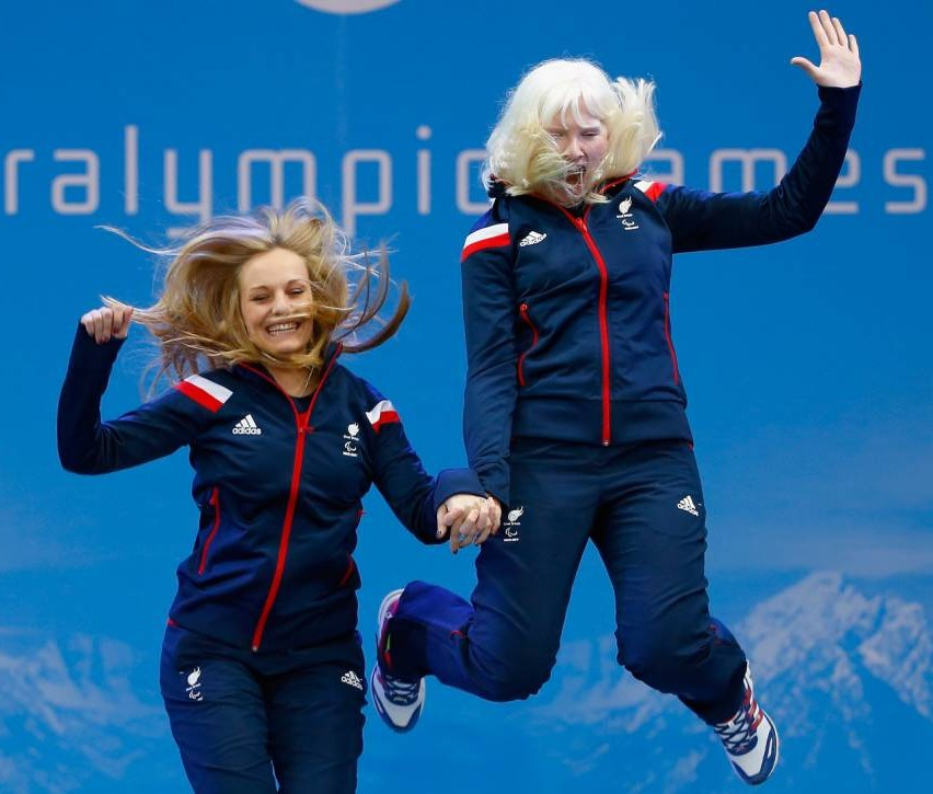 Skier Kelly becomes Britain's first Winter Paralympics winner – despite being almost blind