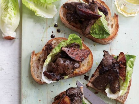 Recipe: How to cook sticky chicken livers on toast by Anjum Anand