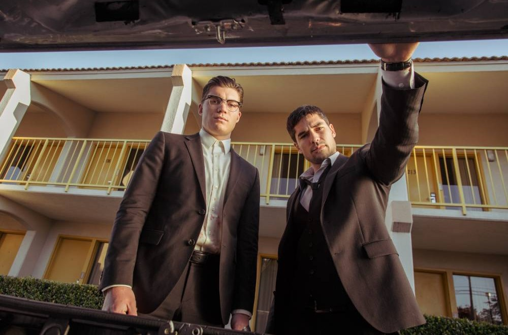Zane Holtz and DJ Cotrona in From Dusk Till Dawn (Picture: supplied)