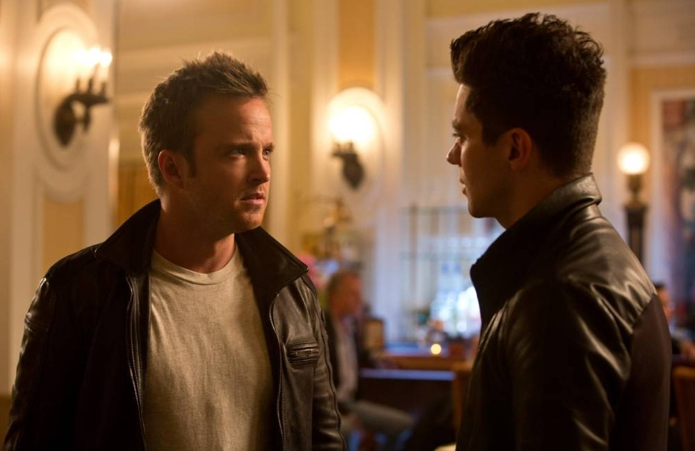 Aaron Paul and Dominic Cooper in Need For Speed (Picture: DreamWorks)