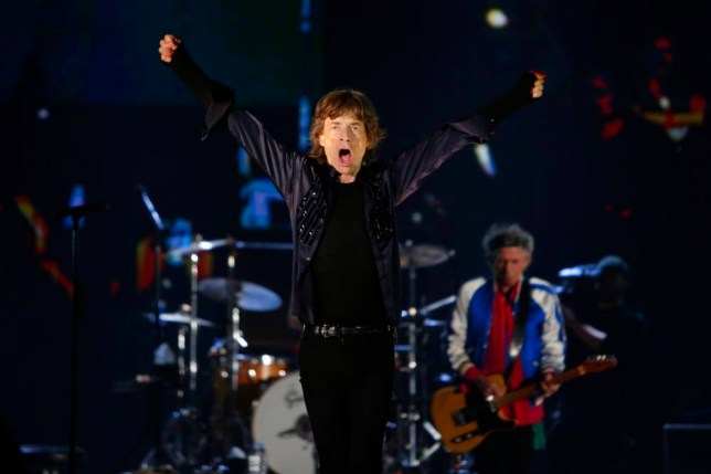 Mick Jagger of the Rolling Stones performs during their 14 on Fire concert at Marina Bay Sands in Singapore March 15, 2014. (Picture: Reuters)