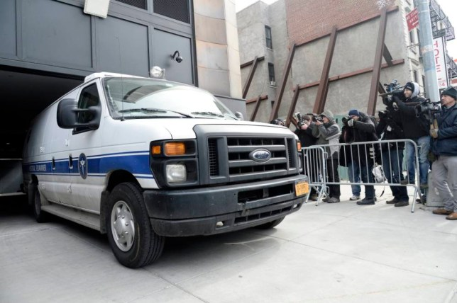 epa04130188 A New York City medical examiners van leaves 200 Eleventh Avenue where the body of fashion designer L'Wren Scott has been found inside her apartment in New York, USA, 17 March 2014. Rolling Stones singer Mick Jagger's girlfriend L'Wren Scott, 49, was on 17 March 2014 found dead in her New York City flat. The official cause of death is yet to be determined.  EPA/ANDREW GOMBERT
