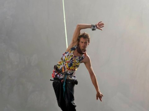 Don't look down! Meet the death-defying highline act with summit to prove