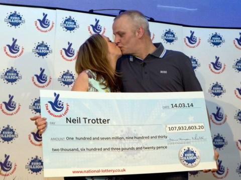 One day Rodney, we'll be millionaires: £108m EuroMillions jackpot winner named as car mechanic Neil Trotter
