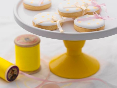 Mother's Day recipe: Polka-dot lemon shortbreads by Fiona Pearce