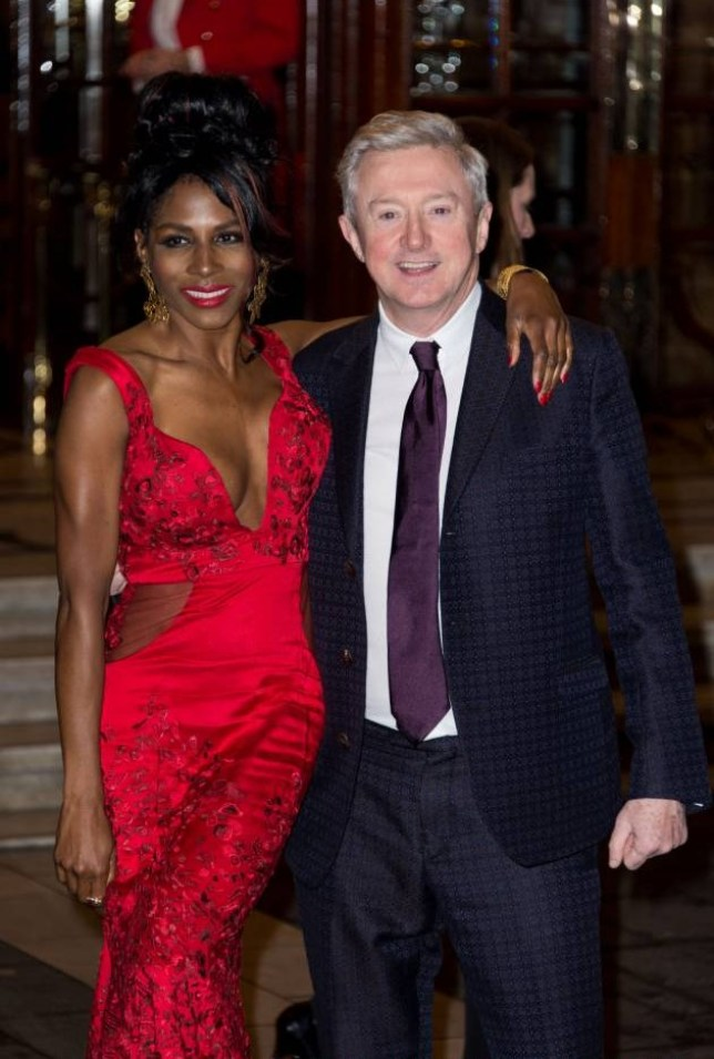 "LONDON, ENGLAND - MARCH 26:  Sinitta and Louis Walsh attends the press night of ""I Can't Sing! The X Factor Musical"" at London Palladium on March 26, 2014 in London, England.  (Photo by Ian Gavan/Getty Images)"
