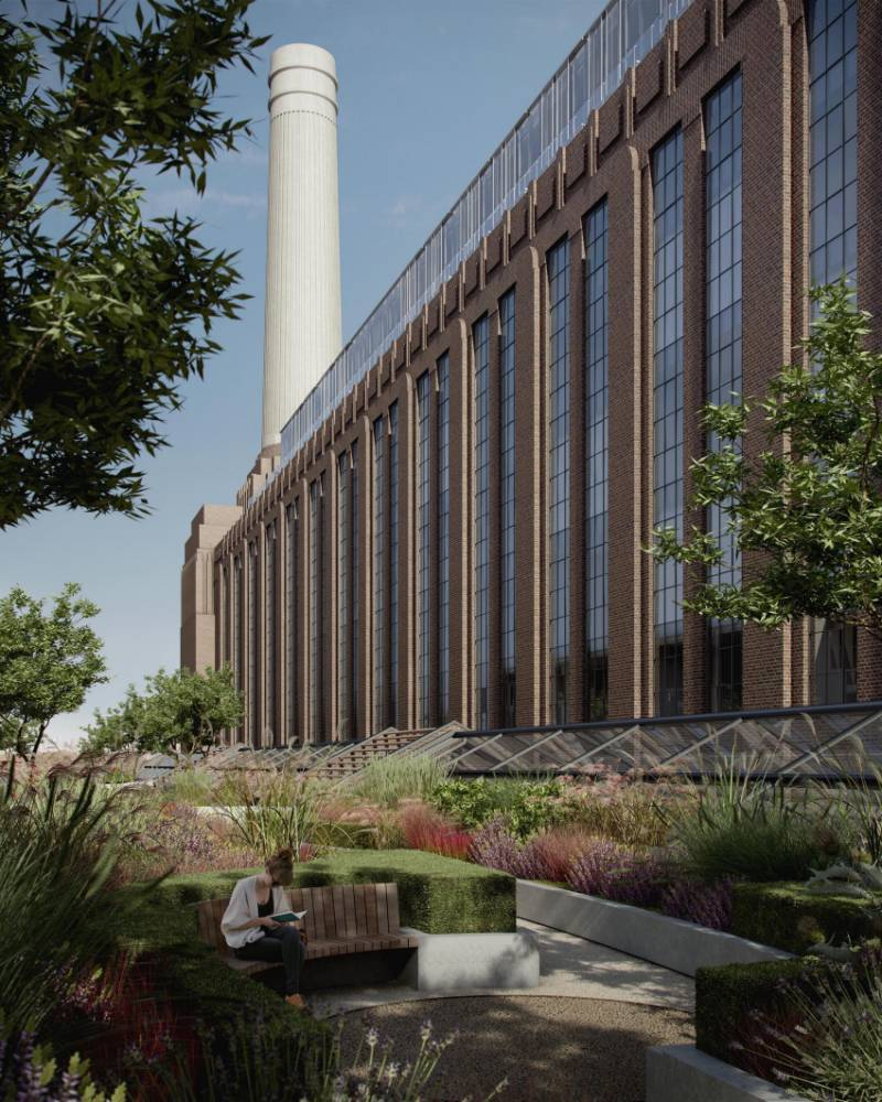 Yours for £1million: Buyers get glimpse of new homes in Battersea Power Station
