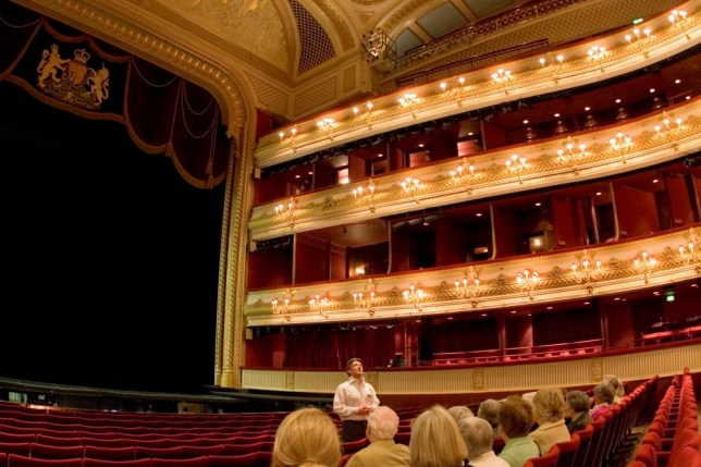 Discovered: Jack Foley wants to go from Royal Opera House tour guide to star