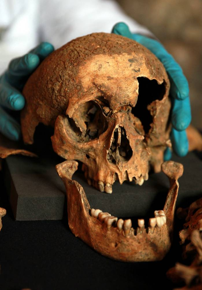 Skeletons that were discovered last year by Crossrail during construction works in Charterhouse Square, as medieval residents of the nation's capital may have been just as cosmopolitan as they are today, according to analysis of the skeletons
