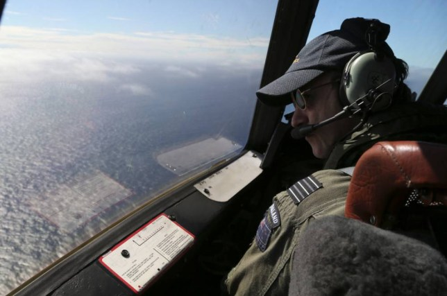 The search for missing Malaysia Airlines flight MH370 continues over the Indian Ocean (Picture: AFP/Getty)