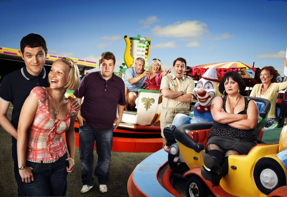 Television Programme: Gavin and Stacey. WITH  MAT HORNE AS GAVIN, JOANNA PAIGE AS STACEY, JAMES CORDEN AS SMITHY, LARRY LAMB AS MICK, ALISON STEADMAN AS PAMELA, ROB BRYDON AS UNCLE BRYN, RUTH JONES AS NESSA, AND MELANIE WALTERS AS GWEN STRICTLY EMBARGOED UNTIL 00.01 hrs  TUESDAY 17TH  NOVEMBER 2009