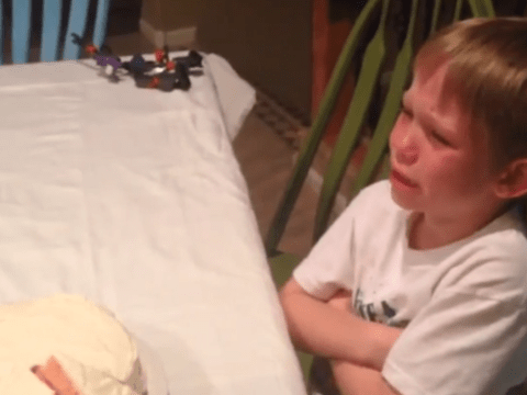 'Every time it's girl, girl, girl! I hate girls!' New baby reveal goes all kinds of wrong