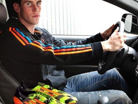 Gareth Bale shows off garish new Adidas Crazylight boots