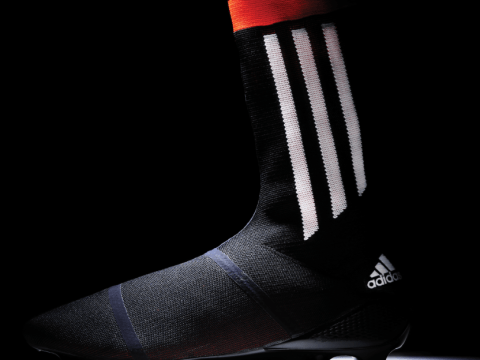 What? Adidas create new football boot complete with sock attached