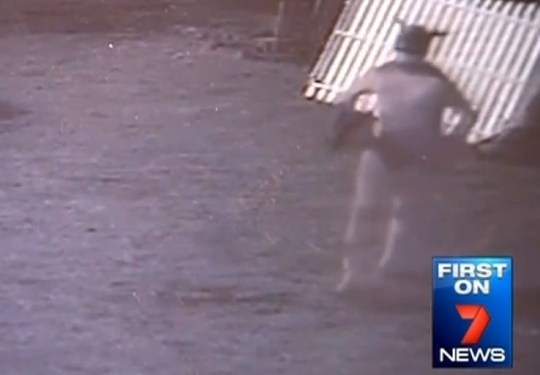 G-string 'thief' caught on video parading around in Batman costume