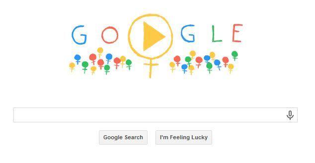 Google Doodle International Women's Day