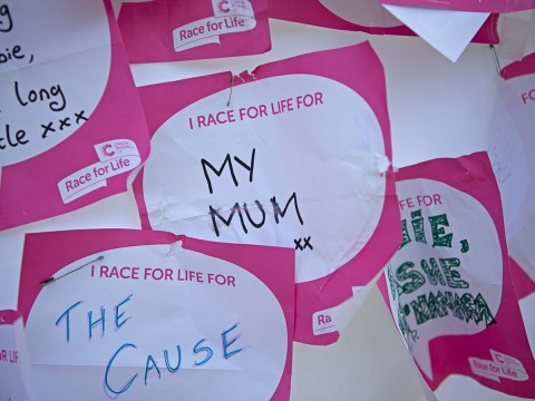 Race For Life: Running for our lives. Literally.