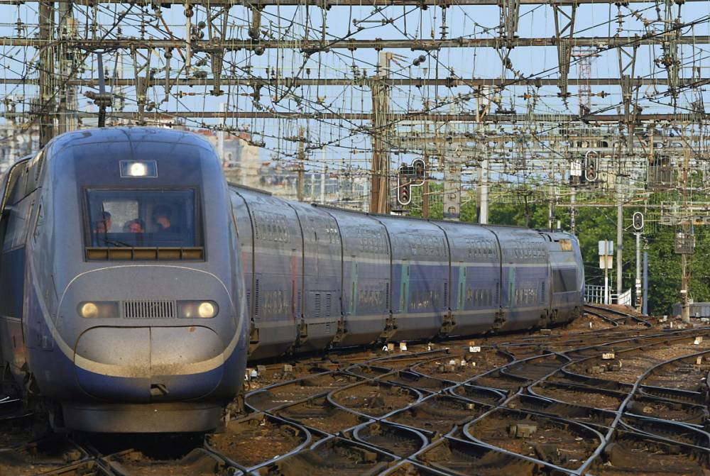 The driver of the high-speed train was unaware he had struck the man