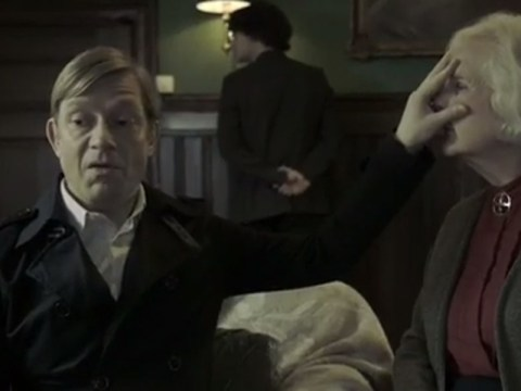 'You're extremely short and well-mannered': Wacky Norwegians parody Sherlock in style