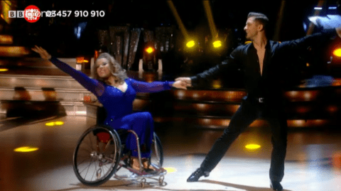 Sport Relief 2014: Stunning Paralympian Strictly Come Dancing gets massive thumbs up from viewers