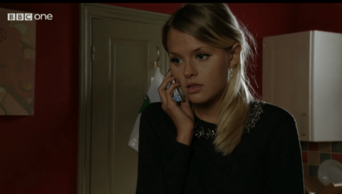 EastEnders: Who is Lucy Beale texting and will they be involved in her impending death?