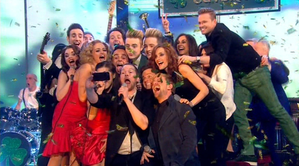 Ant and Dec were joined by a ton of Irish celebrities on St Patrick's Day edition of Saturday Night Live