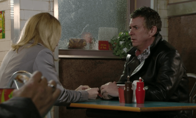 Alfie gets an offer he might not be able to resist (Picture: BBC)