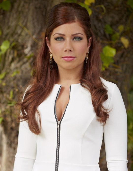 Nikki Sanderson as Maxine Minniver in Hollyoaks (Picture: Lime Pictures)
